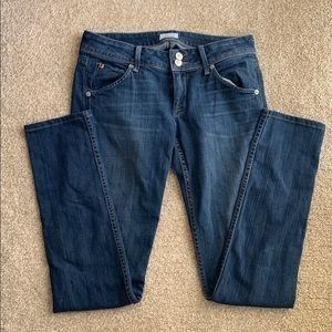 Hudson Collin Flap Skinny jeans.